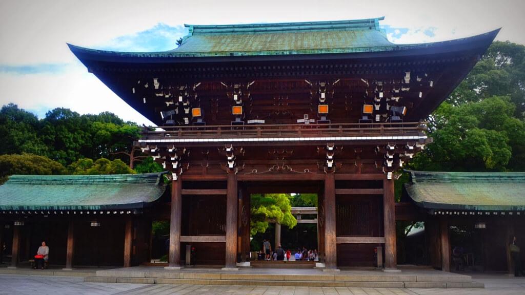Храм императора Мейдзи