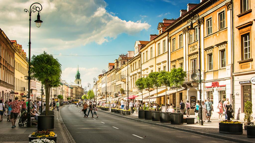 Королевский тракт  в Варшаве