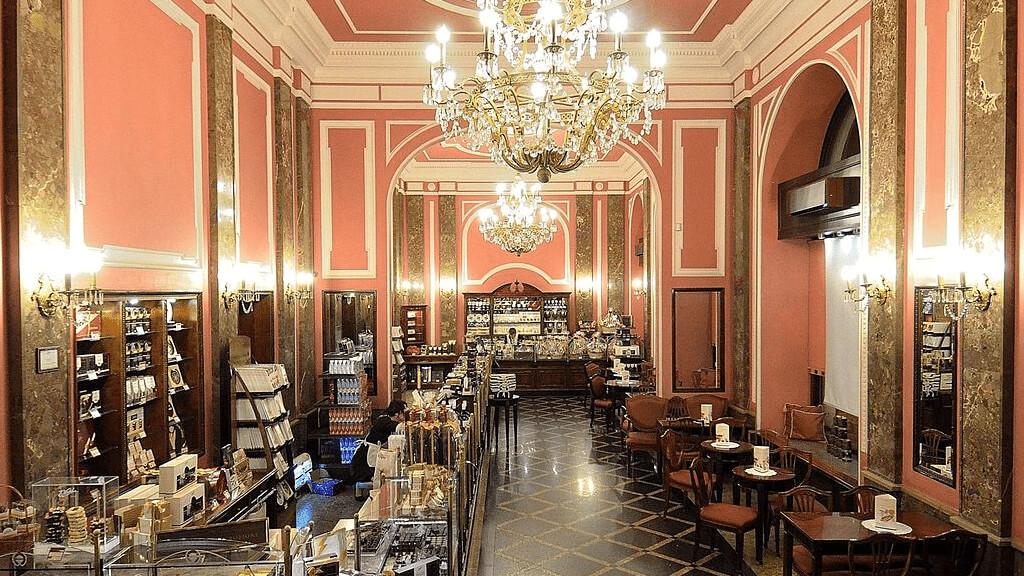 Магазин шоколада Wedel  в Варшаве