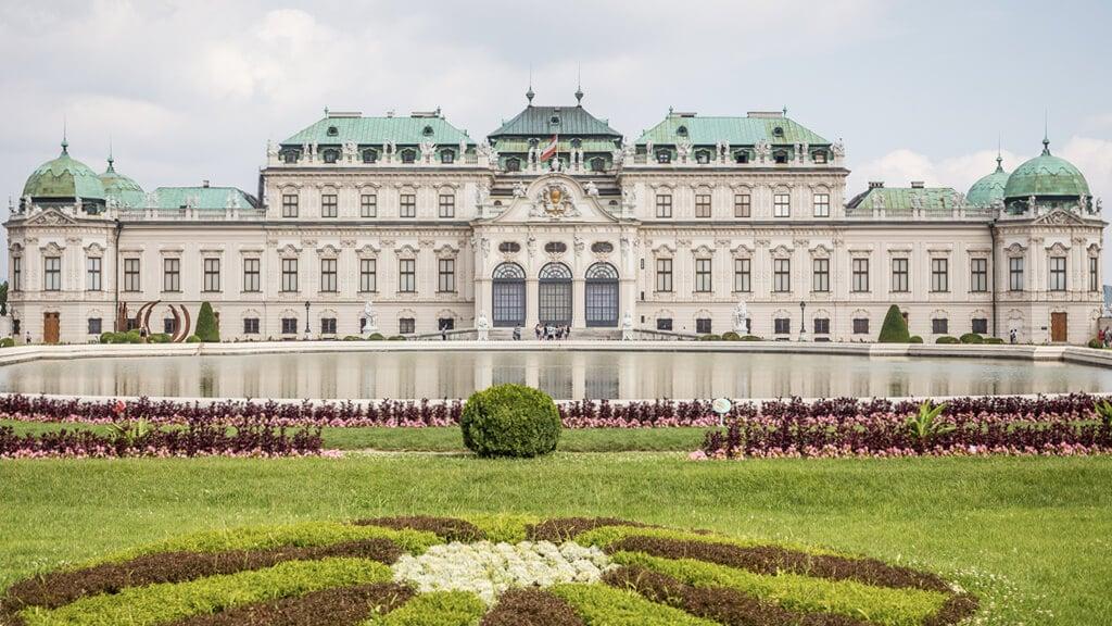 Дворцовый комплекс Бельведер в Вене