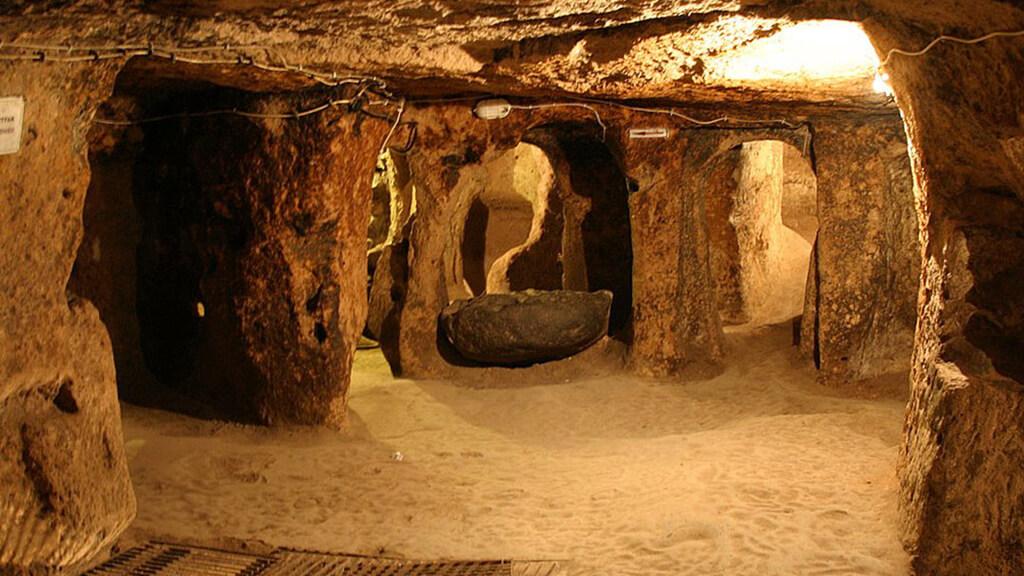 Каппадокия подземный город Каймаклы