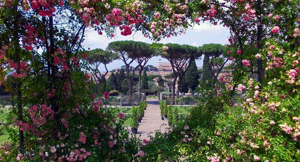 Апельсиновый сад в Риме (Giardino degli Aranci)
