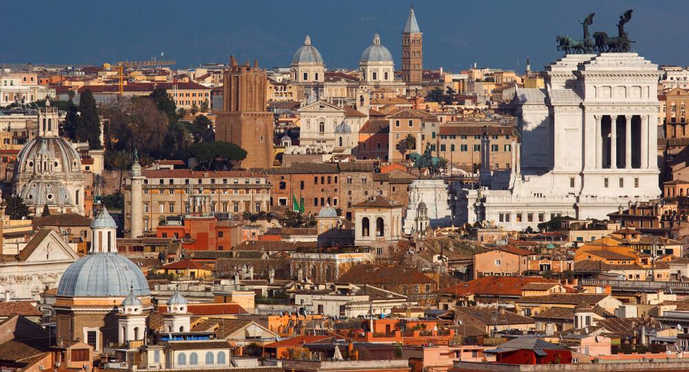 Яникульский холм в Риме (Mons Janiculus)
