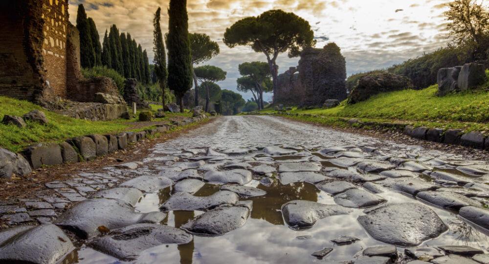 Аппиева дорога в Риме (Via Appia Antica)