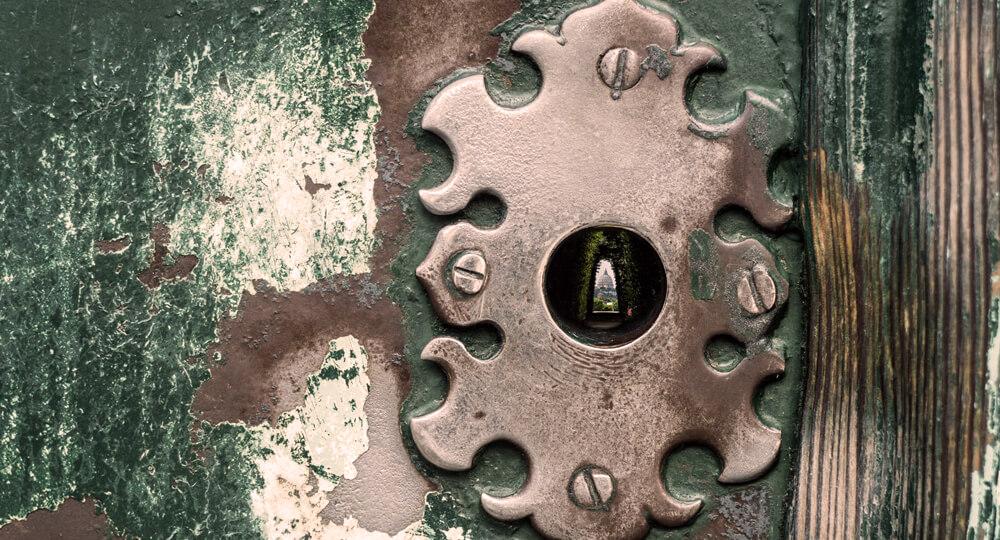Замочная скважина в Риме (Buco della serratura)