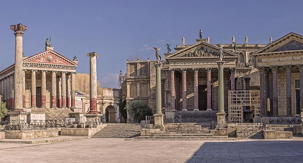 Киностудия Чинечитта в Риме (Cinecitta)