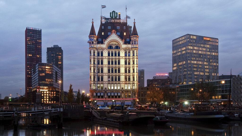 Белый дом в Роттердаме