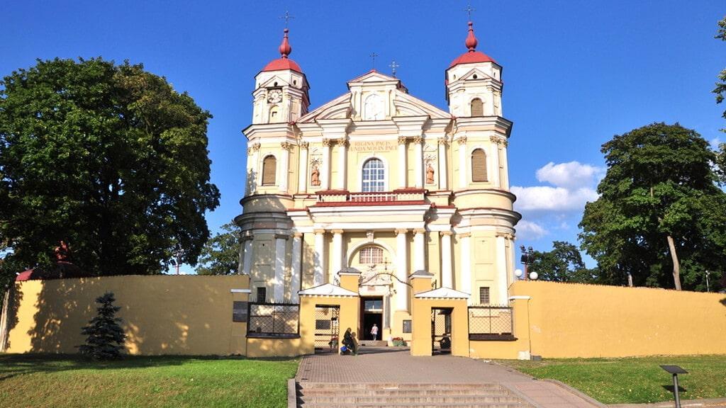 Костел святых Петра и Павла в Вильнюсе