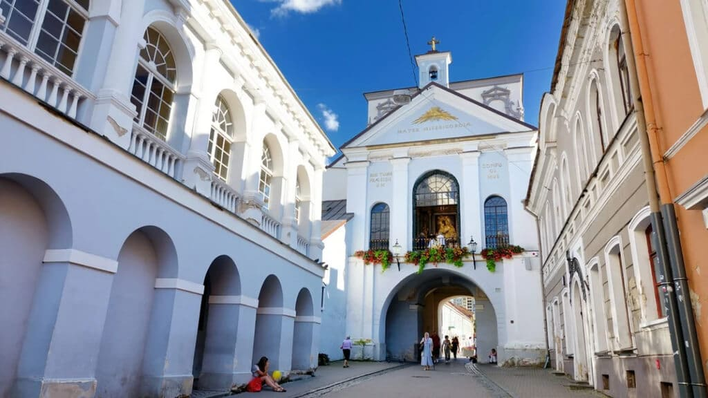 Ворота Аушрос в Вильнюсе