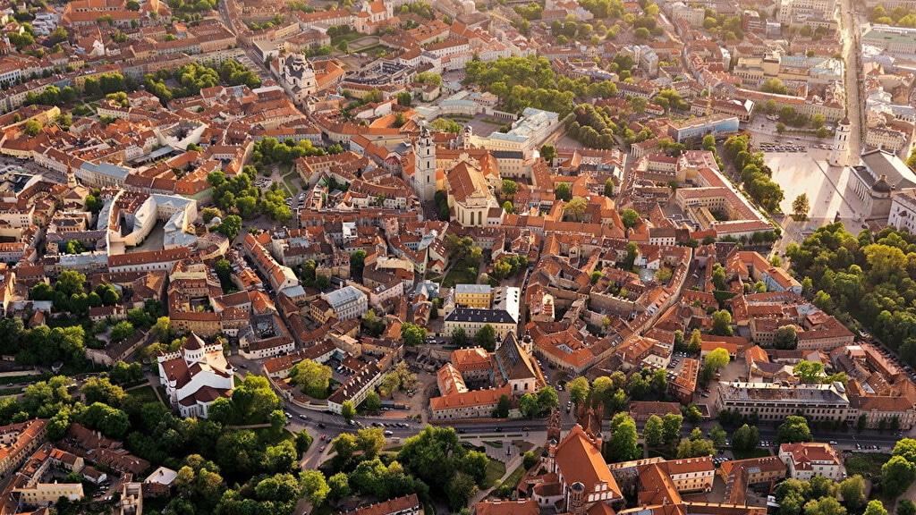 Старый город в Вильнюсе