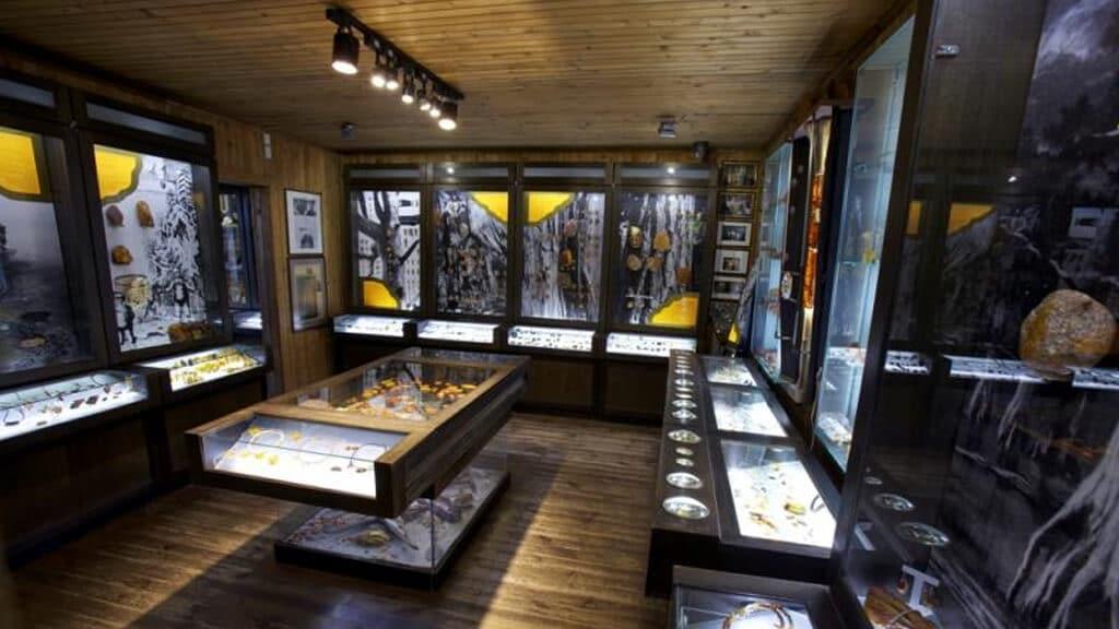 Музей янтаря в Вильнюсе