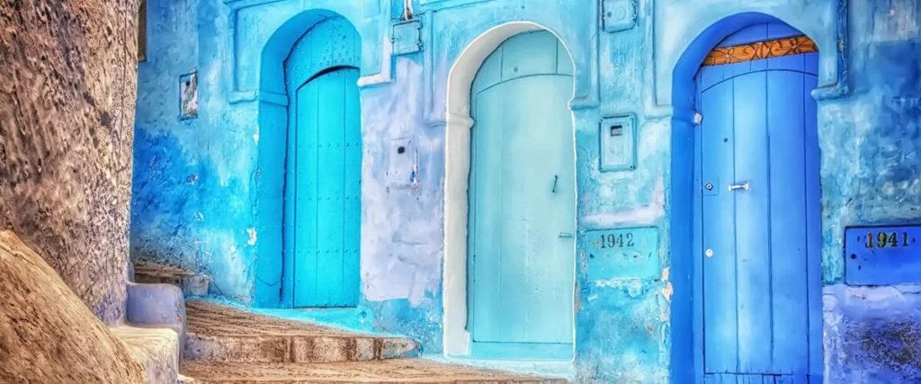 Шавен - голубой город в Марокко