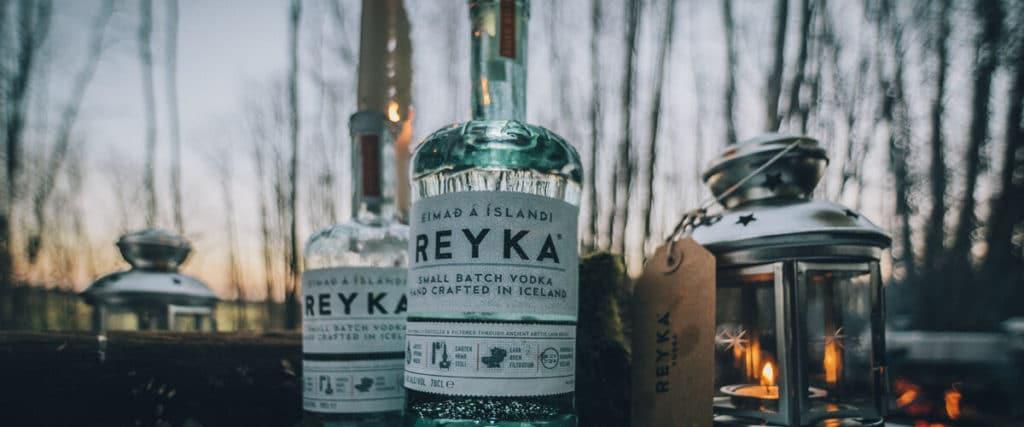 """Кухня Исландии - водка """"Рейка"""""""