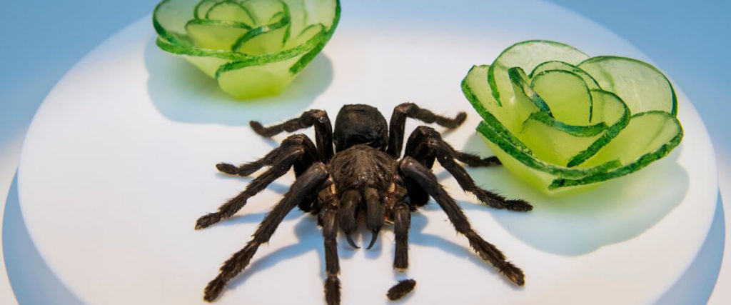 Жареный тарантул, Камбоджа
