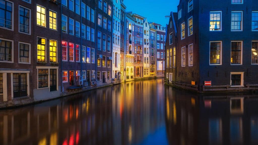 Район Дельфсхавен в Роттердаме
