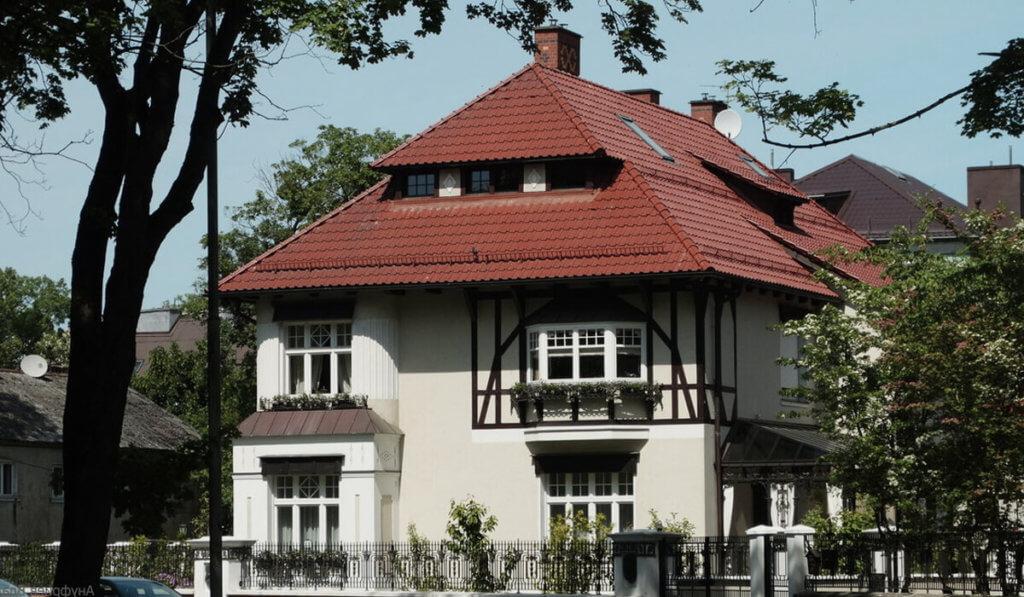 Квартал Амалиенау в Калининграде (вилла Шмидт)