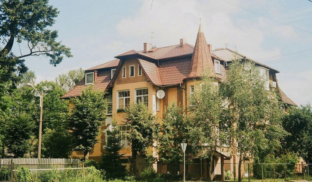 Район Марауненхоф в Калининграде
