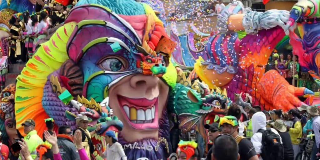 Карнавал в Колумбии (Барранкилья)