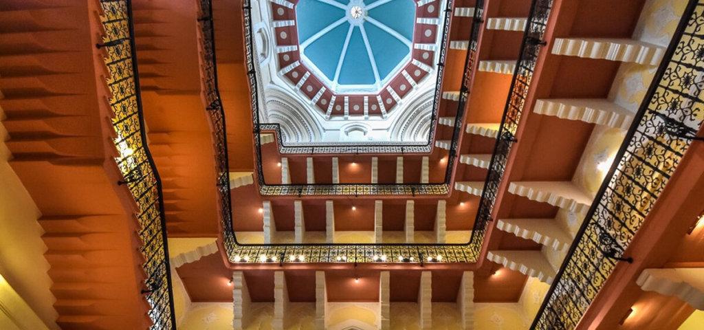 Расположение отеля отеле Тадж-Махал