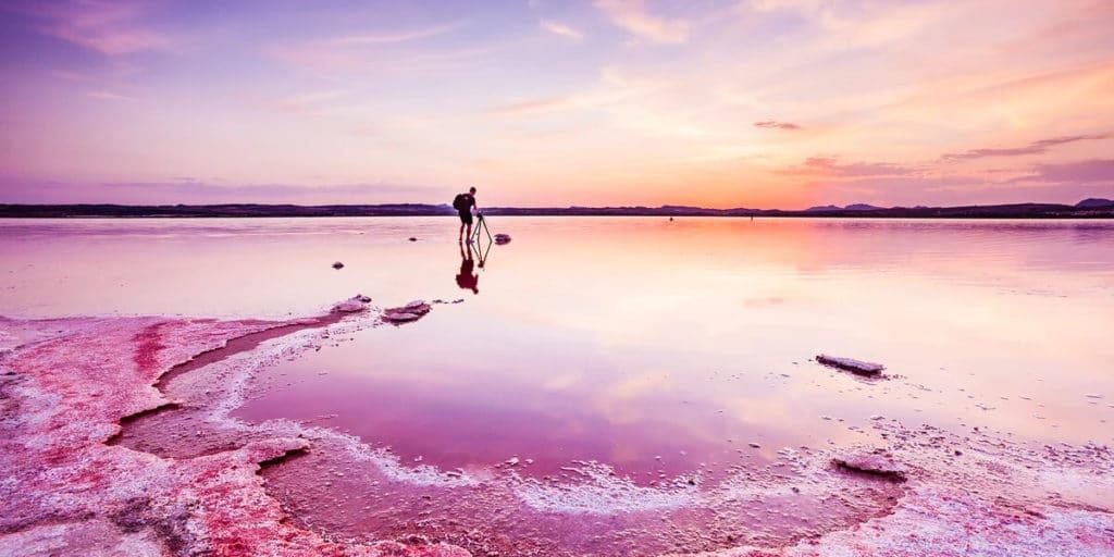 Интересные факты о Розовом озере