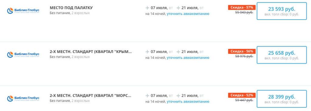Полмесяца в Крыму из Екатеринбурга за 11800₽