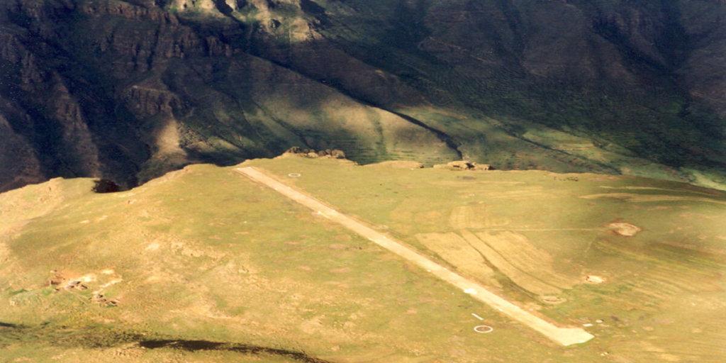 взлётно-посадочная полоса в Матекане, Лесото