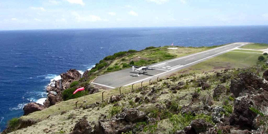 Аэропорт Хуанчо-Ираускин, остров Саба, Нидерланды