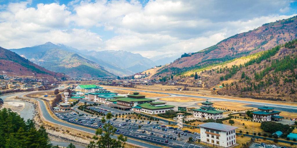 Аэропорт Паро, Королевство Бутан