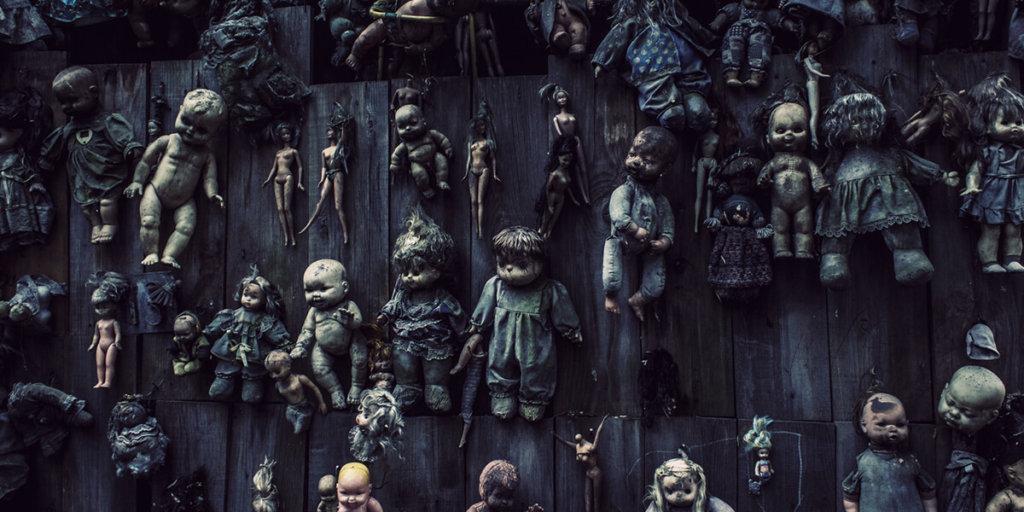 Остров заброшенных кукол (Мексика)