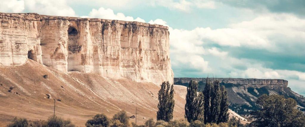 Ак-Кая – белая скала
