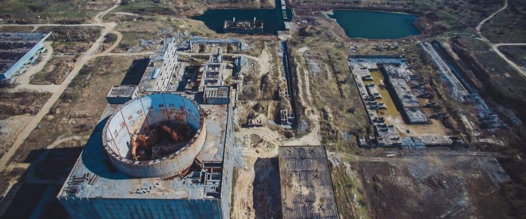 Заброшенная атомная электростанция Крыма