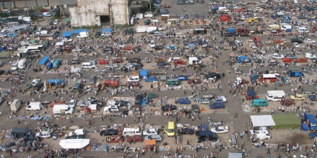 Блошиный рынок Колбенка