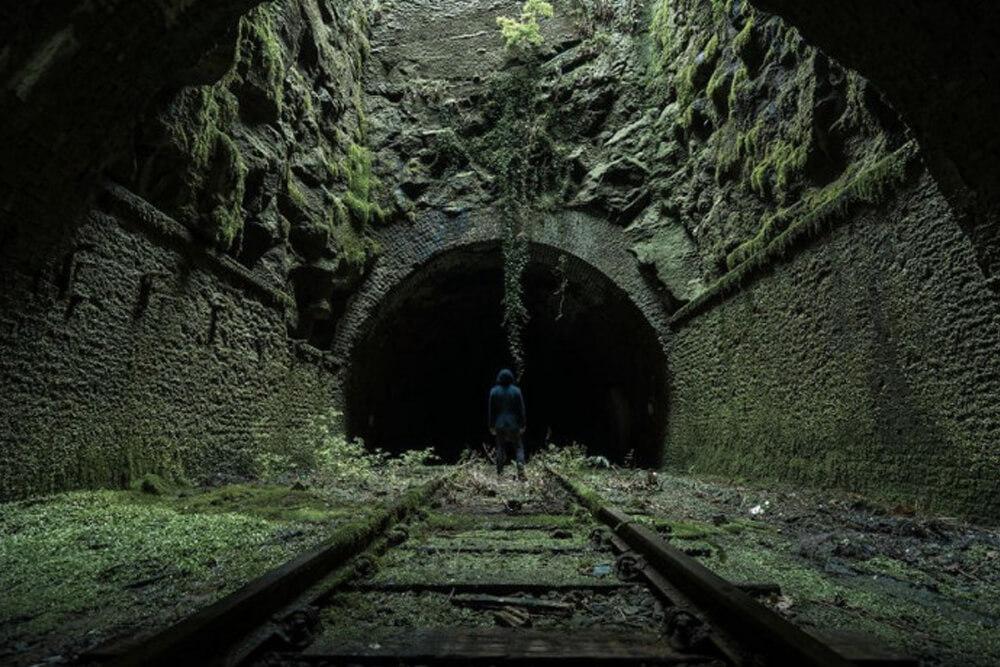 Заброшенный железнодорожный туннель, Великобритания