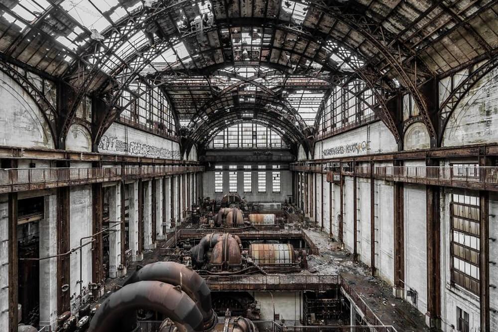 Заброшенная электростанция, США