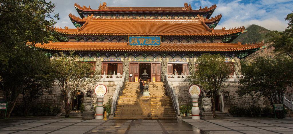 монастырь По Линь в Гонконге