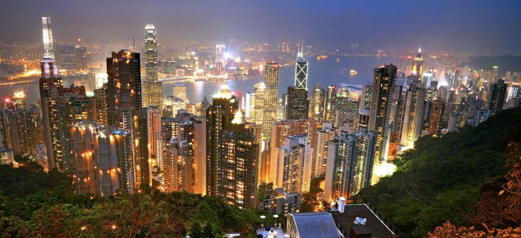 смотровая площадка на пике Виктория, Гонконг