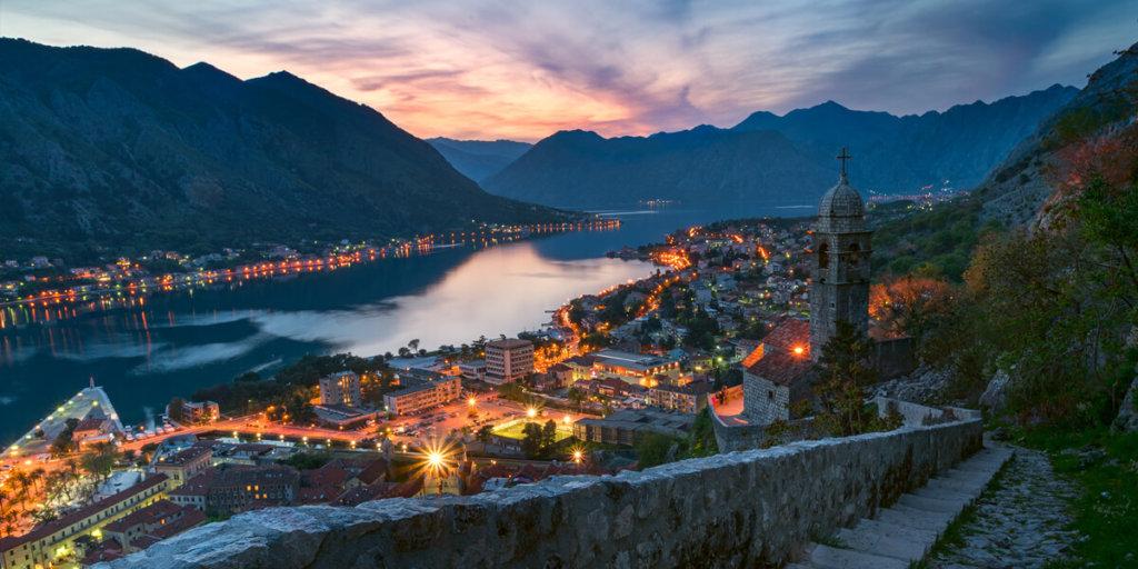 Котор черногория красивые места