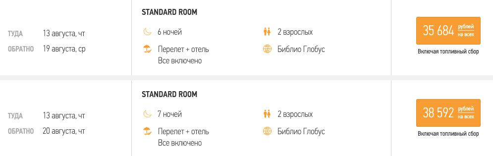 Горящие туры в Турцию из Москвы за 17800₽