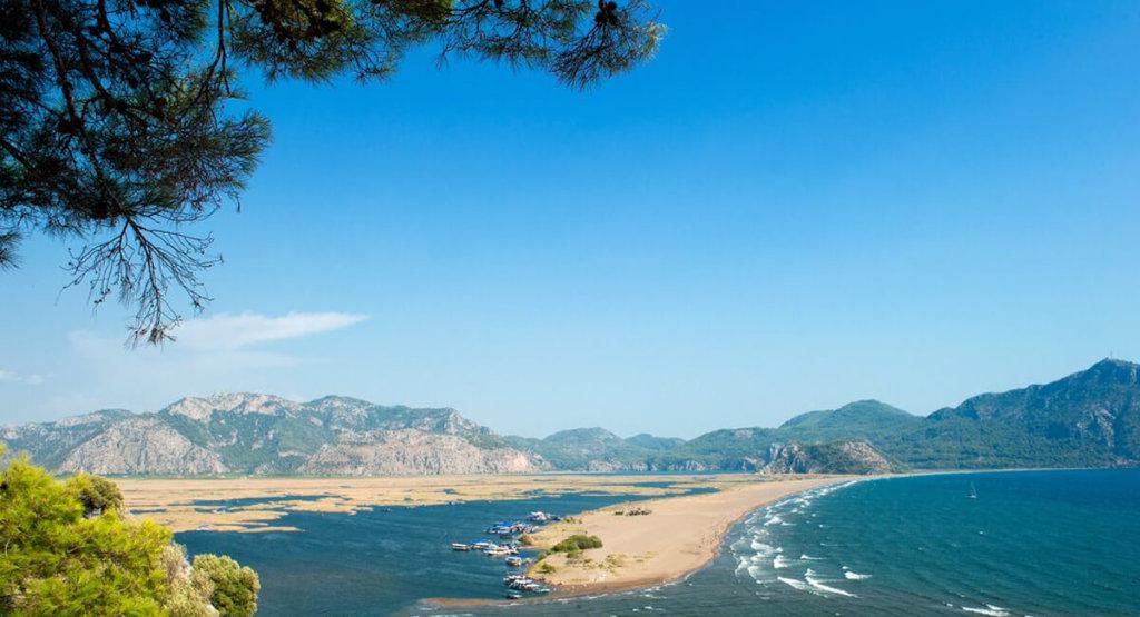 Изтузу (Iztuzu Beach), Дальян
