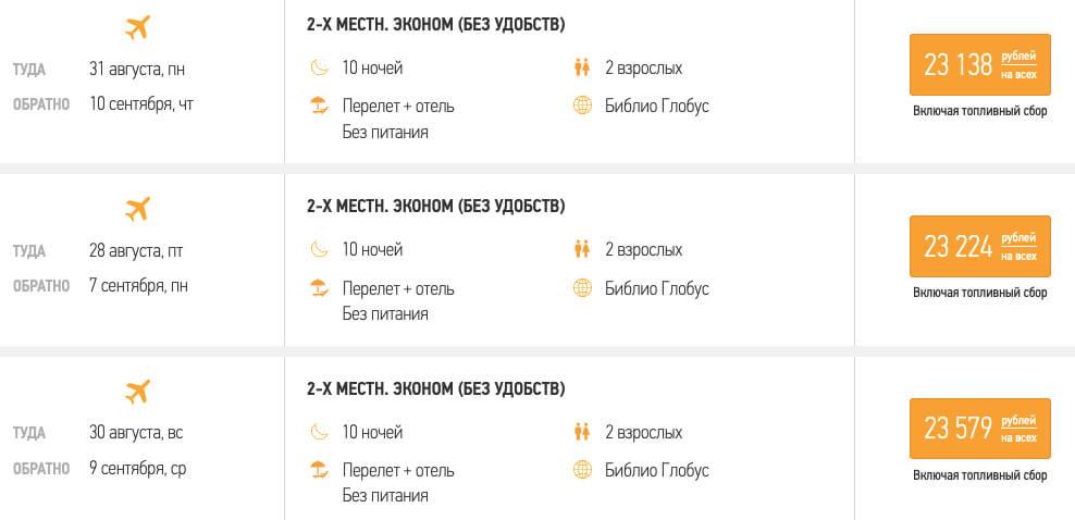 Тур в Абхазию из Москвы на 10 ночей за 11500₽