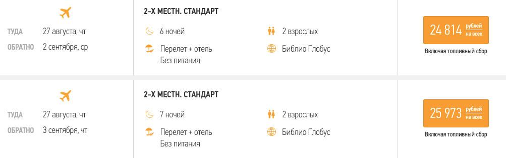Тур в Сочи из Москвы на 6 ночей за 12400₽