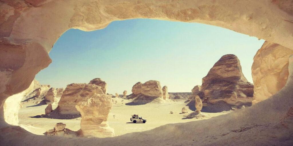 достопримечательности Египта - Белая пустыня