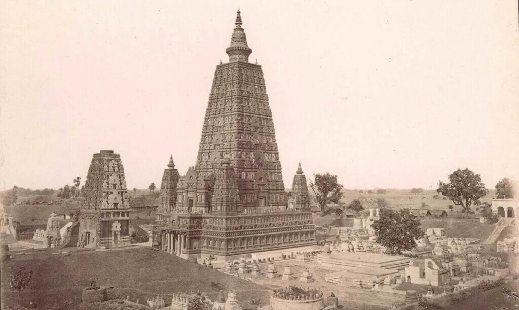 храм Махабодхи, старая фотография