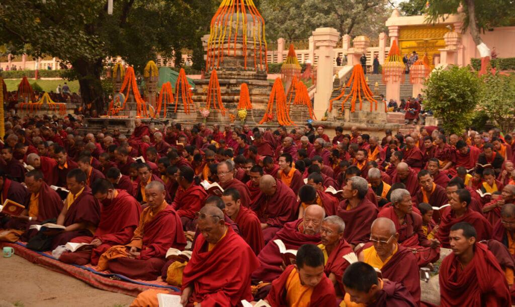 парк Медитации в храме Махабодхи