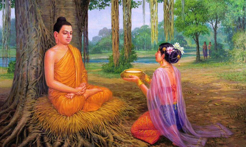 принц Сиддхартха Гаутама и Суджата