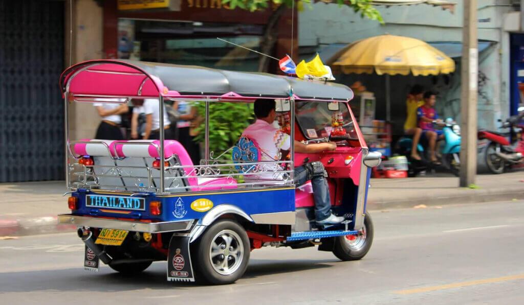 тук-тук в Бангкоке