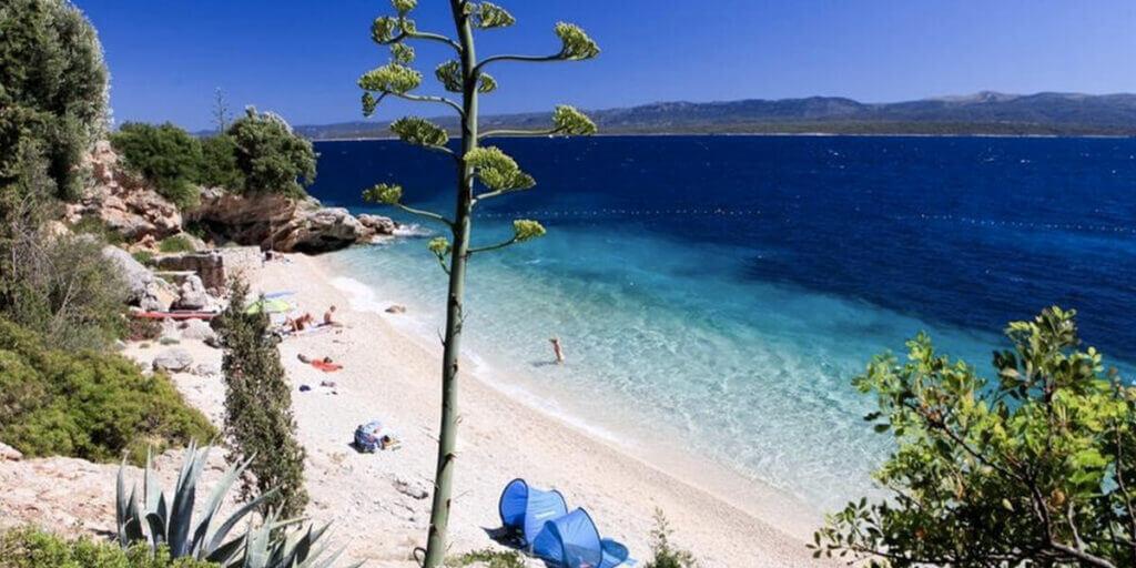 пляжи Мурвица в Хорватии