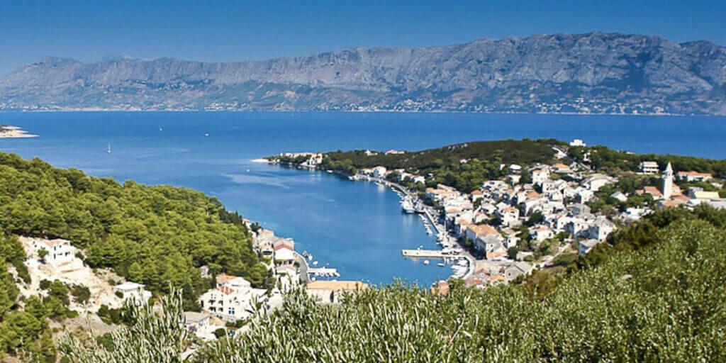 поселок Повля в Хорватии