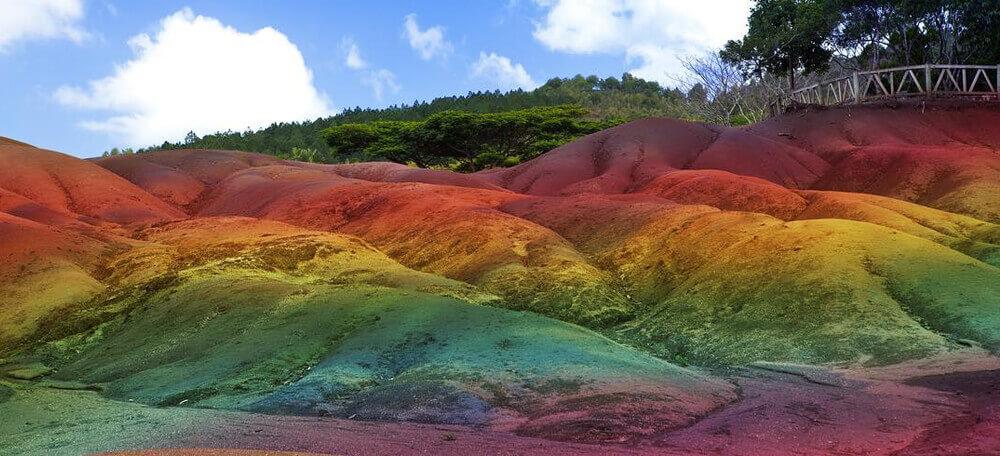 Семицветные пески Маврикий