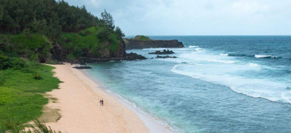 вид со скалы Гри-Гри Маврикий